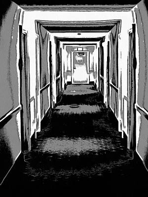 Long Hallway Poster by Dan Sproul
