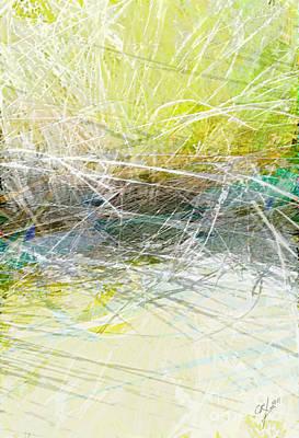 Long Island Beach Grass Poster by CR Leyland