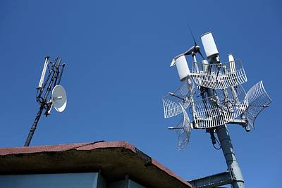 Long-range Wifi Antennae Poster by Cordelia Molloy