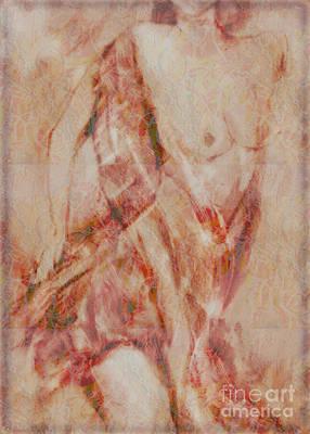 Long Scarf Poster by Gabrielle Schertz