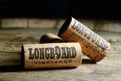 Longboard Corks Poster by Jon Neidert