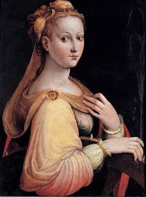 Longhi Barbara, St Catherine Poster