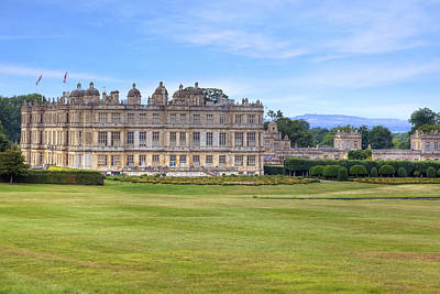 Longleat House  Wiltshire Poster by Joana Kruse
