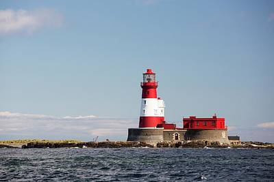 Longstone Lighthouse Poster by Ashley Cooper