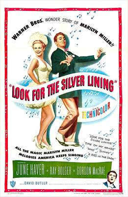 Look For The Silver Lining, Us Poster Poster by Everett
