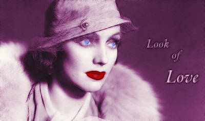 Look Of Love 2 Poster by Steve K