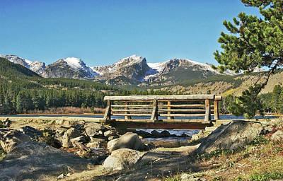 Looking At Longs Peak Colorado Poster