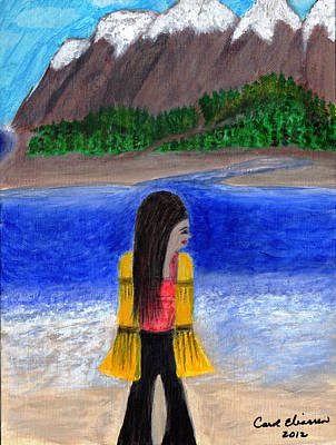 Looking Back Poster by Carol  Eliassen