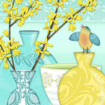 Looking For Spring Poster