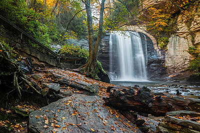 Poster featuring the photograph Looking Glass Waterfall by RC Pics