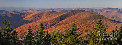 Looking North From Mount Equinox Poster
