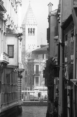 Looking Through To A View Venice Poster by Dorothy Berry-Lound