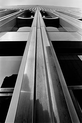 Looking-up World Trade Center Poster by Wernher Krutein