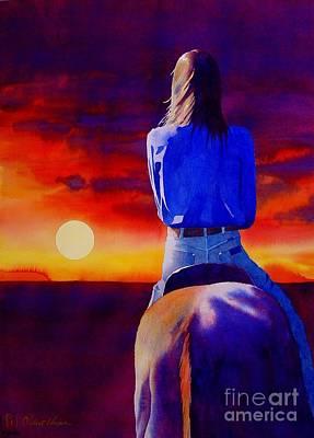 Looking West Poster by Robert Hooper