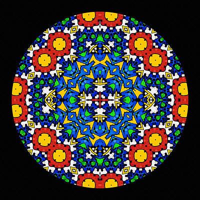 Looking Within - Mandala Poster