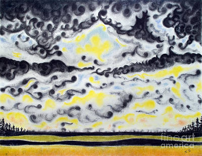 Looming Storm Poster by Jo-Anne Elniski