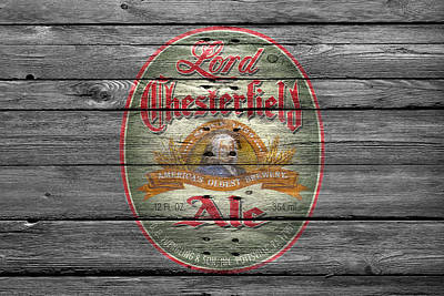 Lord Chesterfield Ale Poster by Joe Hamilton