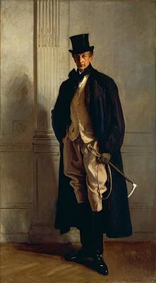 Lord Ribblesdale Poster by John Singer Sargent