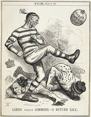 Lords Versus Commons Poster by British Library
