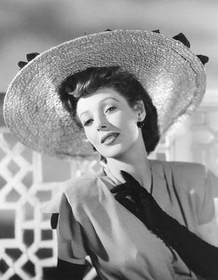Loretta Young In Universal Studio Poster by Everett