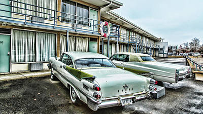 Lorraine Motel - Memphis Poster by Stephen Stookey