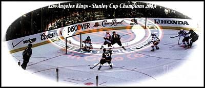 Los Angeles Kings 2014 Poster