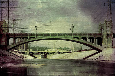 Los Angeles Sixth Street Bridge Poster