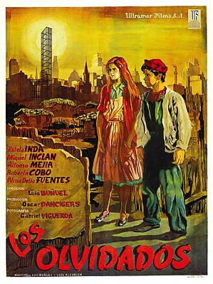 Los Olvidados, Mexican Poster Art, 1950 Poster