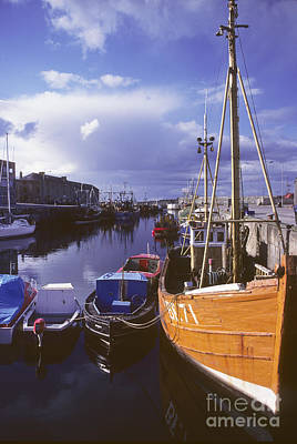 Lossiemouth Harbour - Scotland Poster by Phil Banks