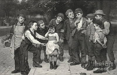 Lost Child 1881 Poster by Padre Art