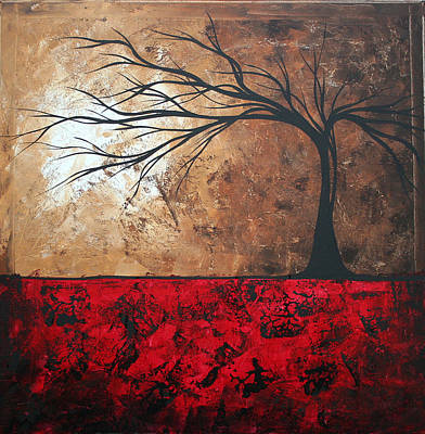 Lost In The Forest By Madart Poster by Megan Duncanson