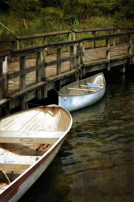 Lost Lake Boardwalk Poster by Michelle Calkins