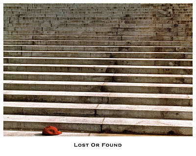 Lost Or Found Poster by Lorenzo Laiken
