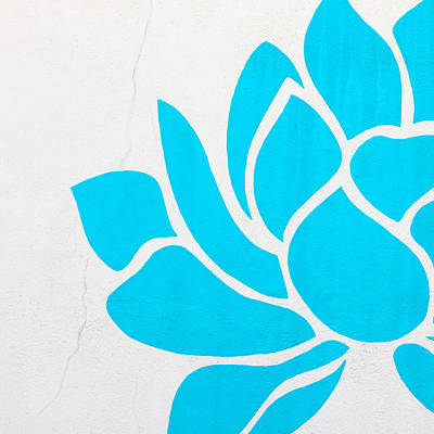 Lotus Blossom Poster by Art Block Collections