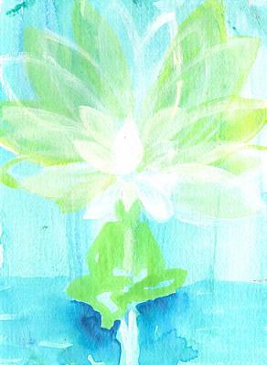 Lotus Petals Awakening Spirit Poster