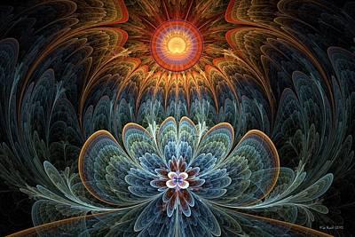 Lotus Rising Poster by Kim Redd