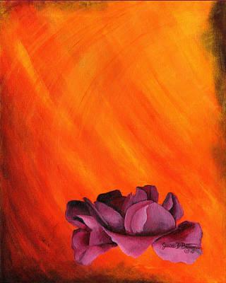 Lotus Rose Poster