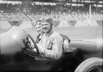 Louis Chevrolet, Us Race Car Driver Poster by Science Photo Library