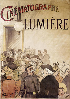 Louis Lumiere (1864-1948) Poster