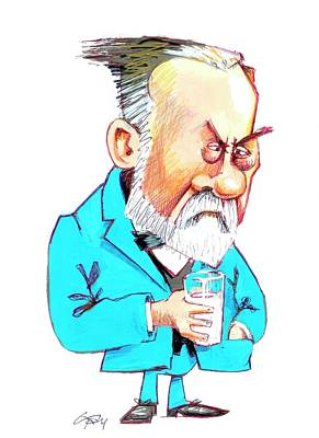 Louis Pasteur Poster by Gary Brown