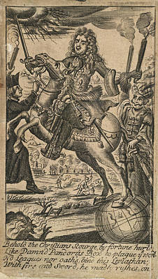 Louis Xiv Poster by British Library