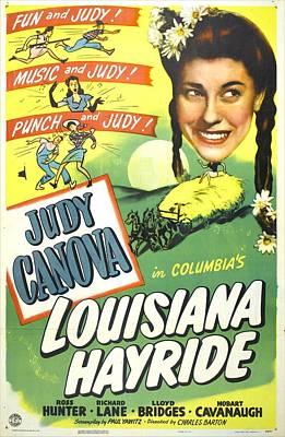 Louisiana Hayride, Us Poster, Judy Poster by Everett