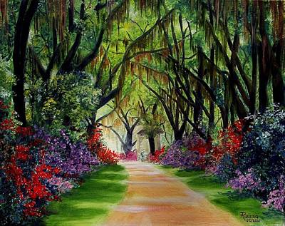 Louisiana Lane Poster by Ruanna Sion Shadd a'Dann'l Yoder
