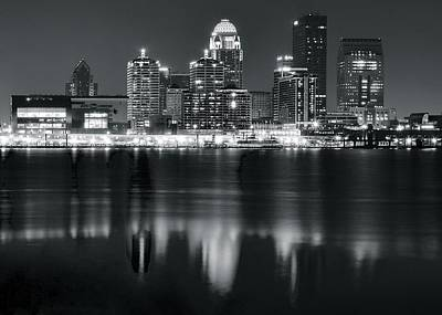 Louisville Black As Night Poster