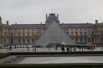 Louvre - Paris France - 011310 Poster by DC Photographer