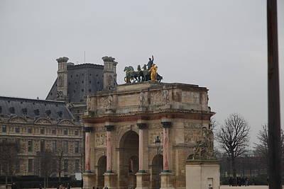 Louvre - Paris France - 011325 Poster