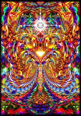 Love Awakening Poster by Jalai Lama