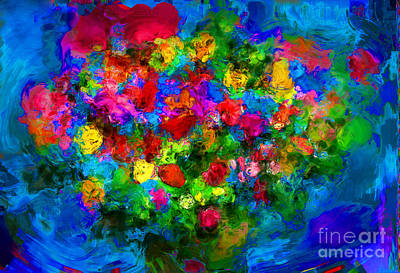 Love Flowers Poster by Alan Greene