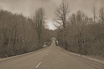 Love Gap Blue Ridge Parkway Poster