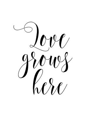 Love Grows Here Poster